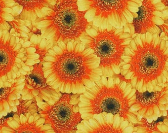 Solid cotton fabric Gerbera - a whole box - 100% pure cotton