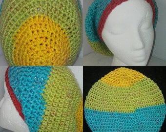 Crocheted Woman's Dread Cap
