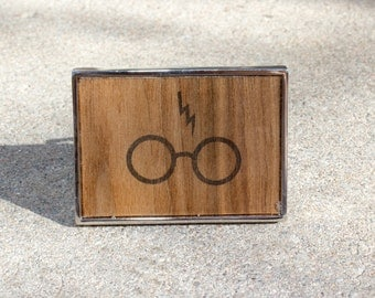 Harry Potter Inspired Belt Buckle
