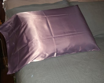 Lavender Satin Pillowcases