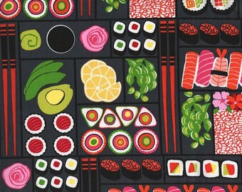 Bento Box in Lacquer Fabric by Michael Miller