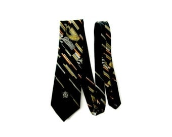 Vintage Mens Tie, Oleg Cassini, Designer Tie, Wide Tie, Menswear, Vintage Mens, Retro Tie, Mens Accessories, Craft Supplies Professional Tie