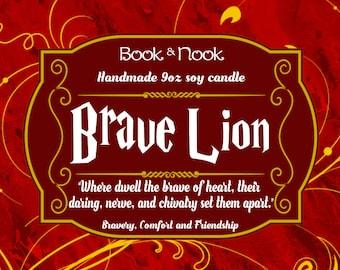 Brave Lion | 9oz jar | Harry Potter Scented Soy Candle