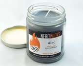 Alec - The Mortal Instruments Series Inspired Candle - Vanilla Scented