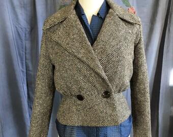 90s Herringbone jacket