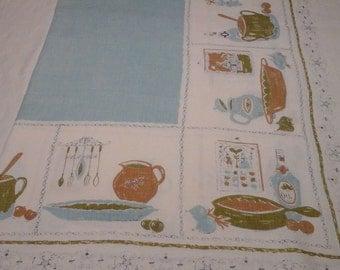 Vintage,linen table cloth.