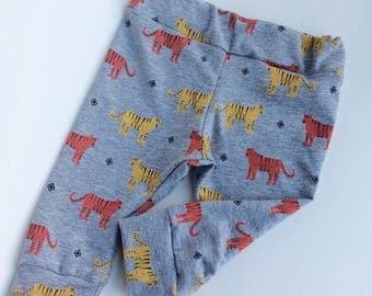 Baby leggings newborn leggings tiger toddler leggings baby boy leggings newborn leggings slouch baby pants girl leggings
