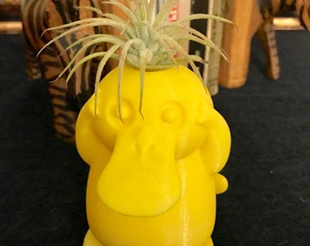 Psyduck planter, 3D printed, Mother's Day Gift,pokemon planter, Holiday Gift, Home decor, Gardening, cute, cuddle, kids Gift