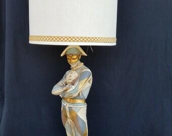 Marbro Hollywood Regency Vintage  Harlequin Jester Lamp