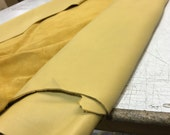 Yellow Leather- Natural Grain 2.5-3.0 oz Cow Side Leather. Perfect For Shoes, Handbags, Garments, and Leather Crafts