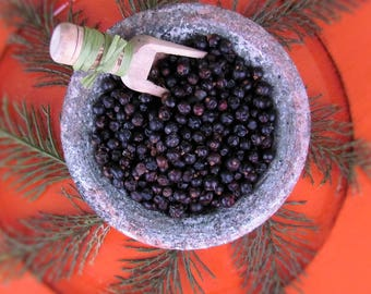 Juniper Berries, Organic Juniper Berries, dried berry, dried herb