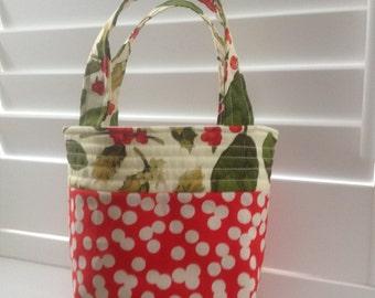 Christmas gift bag, Christmas stocking, Christmas tote,