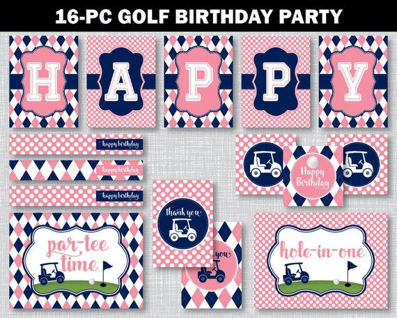Decor, Golf Birthday Party, Golf Birthday Decorations, Golf Birthday ...