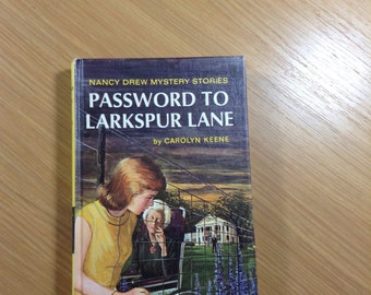 Password To Larkspur Lane 1966 Nancy Drew By Carolyn Keene