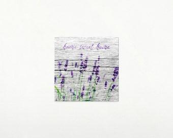 Lavender print.