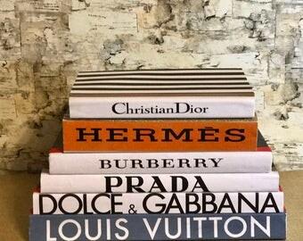 Coffee Table Books / Designer Book Stack / Designer Books / Decorative Books