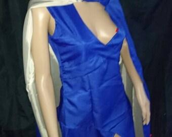 Daenerys targaryen cosplay- dress and cloak