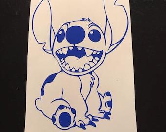 Stitch Decal | Disney Stitch | Lilo and Stitch Decal | Yeti Cup Decal | Laptop Sticker