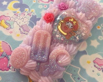 iPhone 6 Decoden Phone Case Kawaii Fairy Kei READY TO SHIP