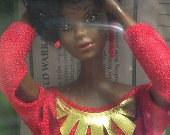 Vintage Black Barbie in Original Box