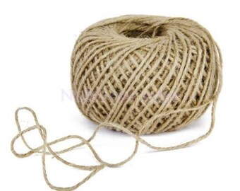 Recycled Twine Ribbon Natural Jute