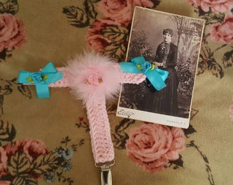 Crochet Leg Garter