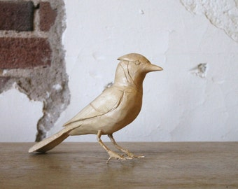 Handcarved Wooden Jay