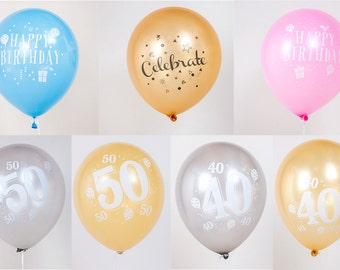 2 x printed balloon, selling individually, add message with your balloons
