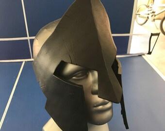300 Spartan Helmet (Blank; unpainted) Battle Damaged.