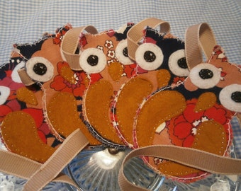 Funky owl garland