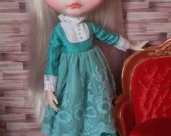 Dress Victorian of silk