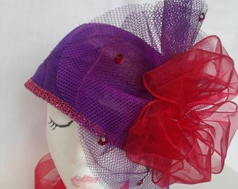 Purple Cutie Pie Hat