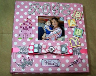 Personalized Baby Photo Album for Girls Kid Pictures Baby Shower Gift