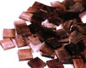 Mini Stained Glass - Clear Plum - 50g