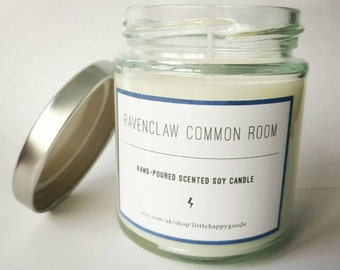 Ravenclaw Common Room - Harry Potter inspired handmade soy wax candle