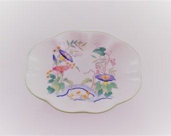 Vintage Soap Dish - Handpainted soap dish