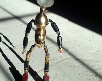 Robot Sculpture- Ooh La La