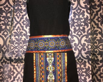 Hmong women heavy duty apron.