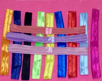 Elastic headbands for bows