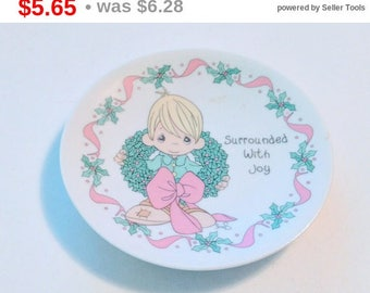 Vintage 1997 Precious Moments Surrounded With Joy 5 inch Collectible Plate