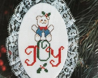 Designs for the Needle Lace Ornament Joy Bear