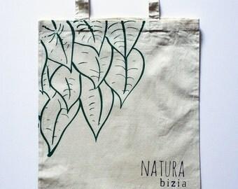 Natura bizia tote bag