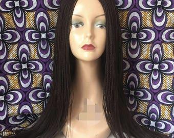 Ade Ori handmade micro braid wig