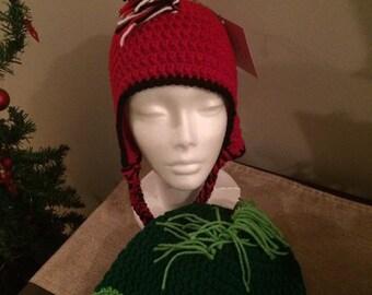 Mohawk earflap hat