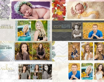 8 FACEBOOK TIMELINE COVERS .psd Photoshop Photography Templates