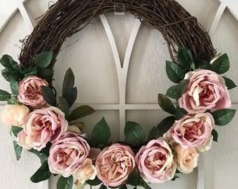 Shirley Rose Wreath