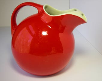 Hall Red Ball Pitcher