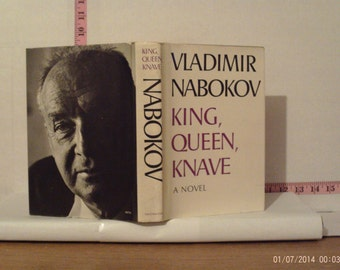 King, Queen, Knave by Vladimir Nabokov 1968 Hardcover First Edition Dust Jacket