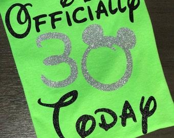 Disney Shirt, birthday, 1234567890, Princess, Magic Kingdom, Glitter, Trip, Vacation, Kids, Mens, Ladies, Womens,