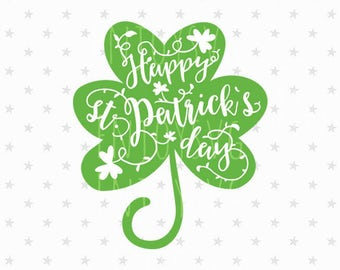 St Patrick svg / Shamrocks svg / Shamrocks svg file / St Patrick's day Svg / St Patrick svg file / Happy St Patrick's Day Svg / Clover svg